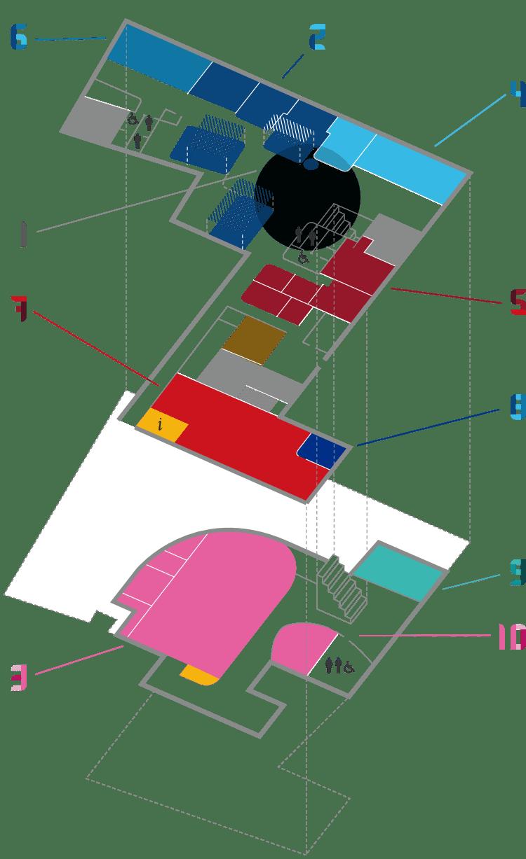 MUG Space - Mappa
